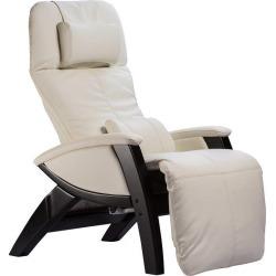 Snowfall White Zero Gravity Massage Chair