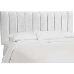 Snow White Seam Queen Channel Headboard found on Bargain Bro India from rcwilley.com for $359.99