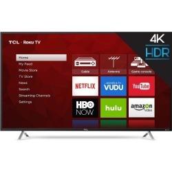 TCL S4-Series 55 Inch 4K UHD HDR Roku Smart TV