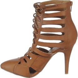 Women's High Heel Pump Paris-01 Tan