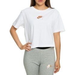 WOMEN'S NIKE SPORTSWEAR AIR CROPPED  white found on Bargain Bro India from shiekh for $39.99