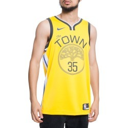 GOLDEN STATE WARRIORS KEVIN DURANT EARNED EDITION SWINGMAN JERSEY AMARILLO/WHITE/ANTHRACITE/DURANT KEVIN