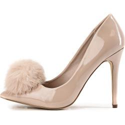 Women's High Heel Pump Cyrus-01 Nude