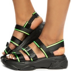 Bumble Bee-MD Sandals Black