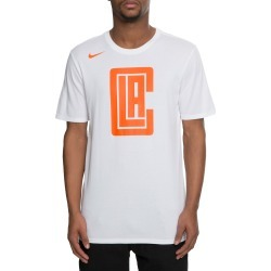 MEN'S NIKE LA CLIPPERS DRY TEE CITY EDITION TEAM WHITE found on Bargain Bro India from shiekh for $34.99