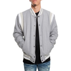 The Westlake Varsity Jacket in Grey Grey found on Bargain Bro India from shiekh for $100.00