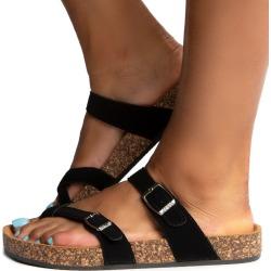Glory-510 Sandals Black