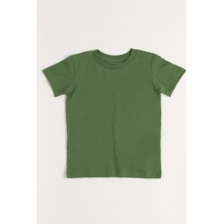 Toddler's Olive Short Sleeve Tee 4T/5T