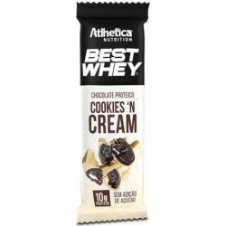 Best Whey Chocolate Proteico - 50g - Atlhetica Nutrition - Cookies'n Cream