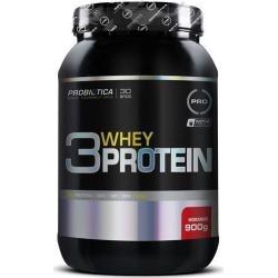 3 Whey Protein - 900g - Probiótica - Morango