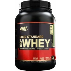 Gold Standard 100% Whey Protein - 910g(2lbs) - Optimum Nutrition - Chocolate c/ Menta