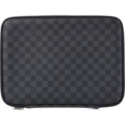 Louis Vuitton Laptop Sleeve Damier Graphite 13 Black/Grey found on MODAPINS from StockX Holdings LLC for USD $775.00