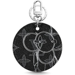 Louis Vuitton Illustre Bag Charm and Key Holder Monogram Vivienne Eclipse Black found on Bargain Bro Philippines from StockX Holdings LLC for $795.00