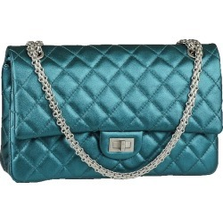 Chanel Reissue 2.55 Classic Double Flap Quilted Metallic 226 Turquoise found on Bargain Bro India from StockX Holdings LLC for $4899.00