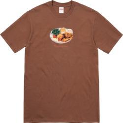 Supreme Chicken Dinner Tee Brown