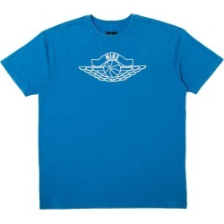 Jordan x Union NRG Vault AJ Flight Nike x Wings Tee Blue found on Bargain Bro India from StockX Holdings LLC for $75.00