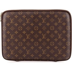 Louis Vuitton Laptop Sleeve Monogram 13 Brown found on MODAPINS from StockX Holdings LLC for USD $950.00