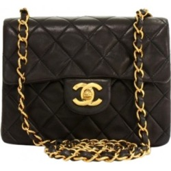Chanel Vintage Classic Single Flap Quilted Mini Black found on Bargain Bro India from StockX Holdings LLC for $3000.00