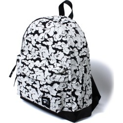 BAPE Rubber Solid Camo Day Pack L White