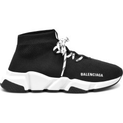 Balenciaga Speed Lace Up Black White (W) found on Bargain Bro India from StockX Holdings LLC for $795.00