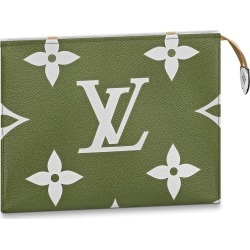 Louis Vuitton Toiletry Pouch Monogram Giant Khaki Green/Beige found on MODAPINS from StockX Holdings LLC for USD $759.00