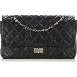 Chanel Reissue 2.55 Classic Double Flap Quilted 227 Black found on Bargain Bro India from StockX Holdings LLC for $4299.00