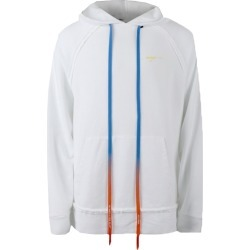 OFF-WHITE Oversized Acrylic Arrows Hoodie White/Yellow