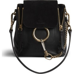 dd0a06e19e7c Chloe Faye Backpack Smooth Suede Mini Black found on MODAPINS from StockX  Holdings LLC for