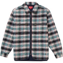 Supreme Quilted Plaid Zip Up Shirt OffWhite found on Bargain Bro India from StockX Holdings LLC for $197.00