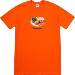 Supreme Chicken Dinner Tee Orange