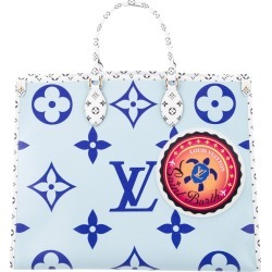 Louis Vuitton Onthego Monogram Giant Saint Barth Blue found on Bargain Bro India from StockX Holdings LLC for $4500.00