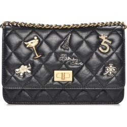 Chanel Reissue 2.55 Wallet On Chain Quilted Diamond Lucky Charms Casino Black found on Bargain Bro India from StockX Holdings LLC for $3400.00