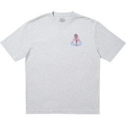 Palace Rolls P3 T-Shirt Grey Marl found on Bargain Bro India from StockX Holdings LLC for $78.00