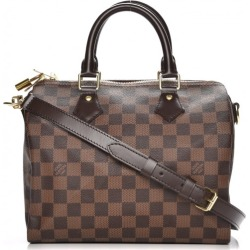 Louis Vuitton Speedy Bandouliere Damier Ebene 25 Brown found on Bargain Bro Philippines from StockX Holdings LLC for $1400.00