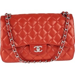 Chanel Classic Double Flap Quilted Jumbo Red found on Bargain Bro India from StockX Holdings LLC for $4500.00