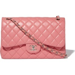 Chanel Classic Double Flap Quilted Jumbo Pink found on Bargain Bro India from StockX Holdings LLC for $5400.00