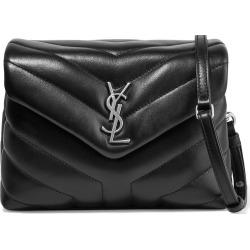 Saint Laurent LouLou Shoulder Bag Toy Black