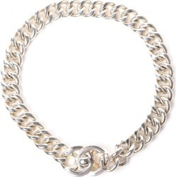 Chanel CC Choker Necklace Chain Link found on Bargain Bro India from StockX Holdings LLC for $1750.00