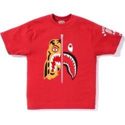 BAPE Tiger Shark Tee Red