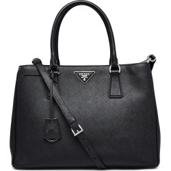 Prada Convertible Lux Tote Saffiano With Accessories Small Black found on Bargain Bro India from StockX Holdings LLC for $1499.00