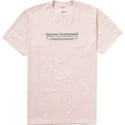 Supreme Inc. Tee Heather Light Pink found on Bargain Bro Philippines from StockX Holdings LLC for $48.00