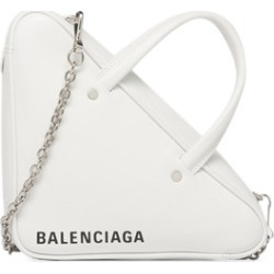 Balenciaga Triangle Chain Duffle XS White found on Bargain Bro India from StockX Holdings LLC for $1173.00