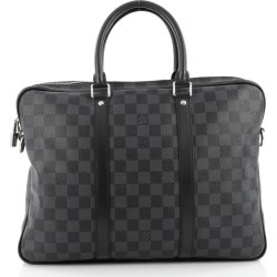 Louis Vuitton Porte-Documents Voyages Damier Graphite PM Black found on Bargain Bro India from StockX Holdings LLC for $989.00