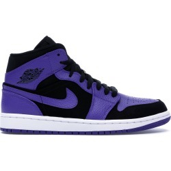Jordan 1 Mid Black Dark Concord found on Bargain Bro India from StockX Holdings LLC for $91.00