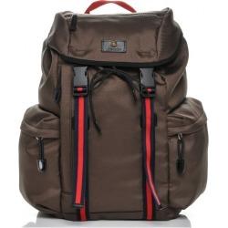 Gucci Web Techno Backpack Web Brown