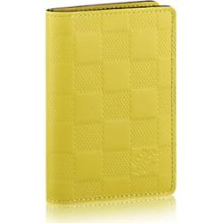 Louis Vuitton Pocket Organizer Damier Infini Vert Acide found on Bargain Bro India from StockX Holdings LLC for $628.00