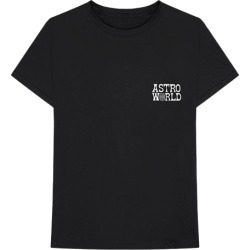 Travis Scott Astroworld Promo Tee Black