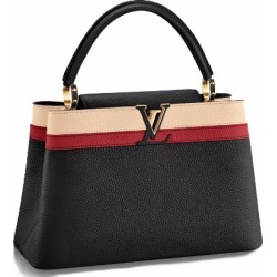 Louis Vuitton Capucines Tri-Color MM Black found on Bargain Bro India from StockX Holdings LLC for $9000.00