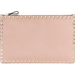Valentino Clutch Rockstud Smooth Pink found on MODAPINS from StockX Holdings LLC for USD $595.00