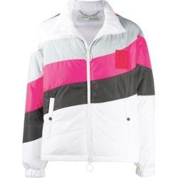 OFF-WHITE Puffer Anorak Jacket White/Pink